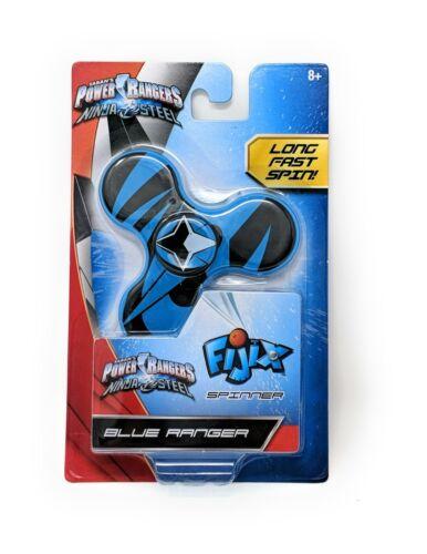 Blue Ranger Ninja Steel Fidget Spinners FIJIX POWER RANGERS SPINNER