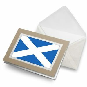 Greetings-Card-Biege-Scottish-Flag-Scotland-Britain-15675