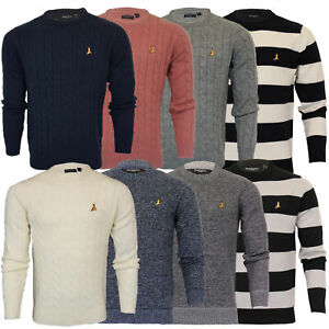 Mens-Jumper-Brave-Soul-Knitted-Sweater-Pullover-GOODWIN-Crew-Neck-Top-Winter-New