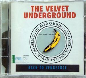 VELVET UNDERGROUND // Back to Vengeance / NEW 1993 CD Live Amsterdam !