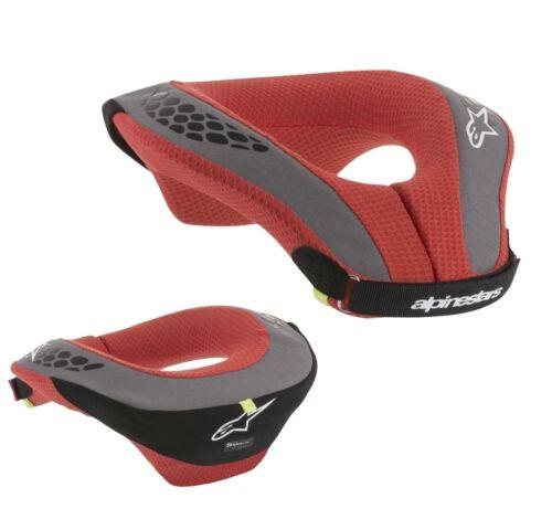 ALPINESTARS Sequence MX Enduro Motocross Bambini Collo Protezione Nero Rosso