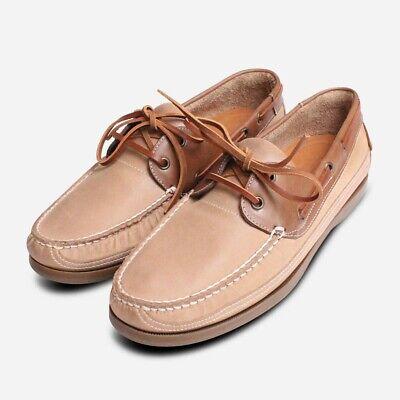 Anatomic & Co Beis Claro Comodidad Zapatos Náuticos para Hombre | eBay