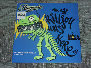 Kingmaker-Eat-yourself-whole-7-034-MINT-UNPLAYED-VINYL