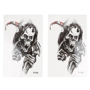 1Pc-Set-Skull-Body-Sticker-Tattoo-For-Men-Make-Temporary-Tattoos-Fake-Tattoo-R2