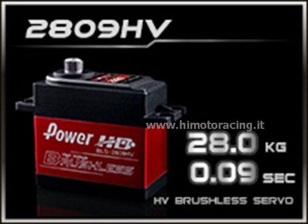 SERVO DIGITALE BRUSHLESS POWER POWER POWER Hd (High Voltage ) BLS-2809HV 28.0 kg 0.09 sec. 0ec248