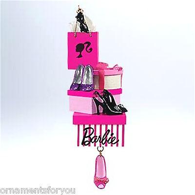 Hallmark 2011 Spotlight on Shoes Barbie Ornament