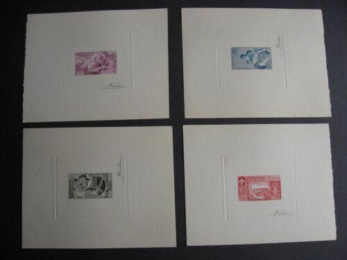 LAOS 48-51 complete set signed proofs (minor corner dings) PLZ read description