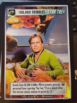 Star Trek CCG Reflections 100,000 Tribbles FOIL NrMint-MINT