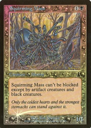 Squirming Mass MTG Various Conditions Foil Urza/'s Destiny