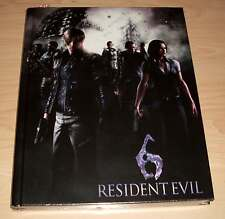 Resident EVIL 6-Limited Edition STRATEGY GUIDE (libro giochi consulenti) - NUOVO OVP