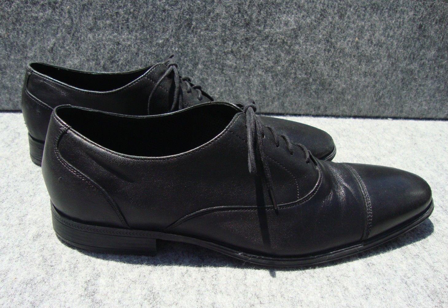 Cole Haan Black C09168 Black Haan Cap Toe Oxfords Men's Size 13M 443766