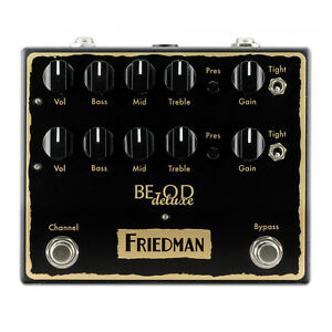 Friedman-BE-OD-Deluxe-Overdrive-Distortion-Pedal