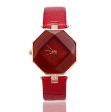 1PCS Women Waterproof Watch Lady Leather Band Analog Quartz Wrist Watches