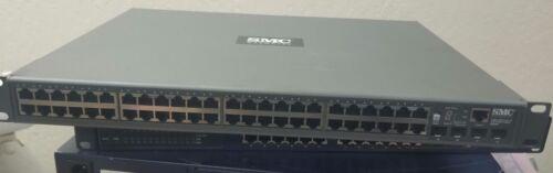 SMC 8848M 10//100//1000Mbps 1U 48 Port Gigabit Managed Ethernet Network Switch