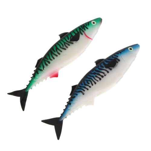 Big Size Simulate Sea Fishing Lure Swimbait 30cm Hollow Belly Soft   Lure