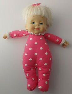 """Mattel 1964 15"""" Drowsy Doll - vintage soft body WORKS Classic Collection CLEAN"""