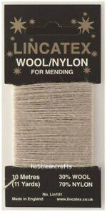 Haferflocken Gewinde Für Ausbessernd & Lincatex - 30%Wolle 70%Nylon 10 Meter