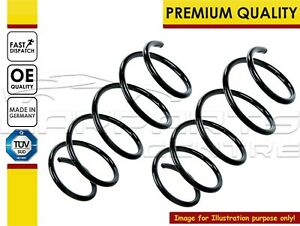FRONT SUSPENSION COIL SPRINGS PAIR NEW 05-11 RENAULT CLIO MK3 1.2 1.4 1.6 16v