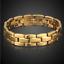 Goldkette-Armkette-Armreif-dicke-Panzerkette-Maenner-Kette-Herren-Damen-vergoldet Indexbild 1