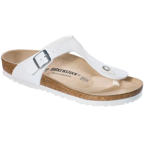 Birkenstock Gizeh Birko-flor señora tira dedo sandalia ancho 043731 normal