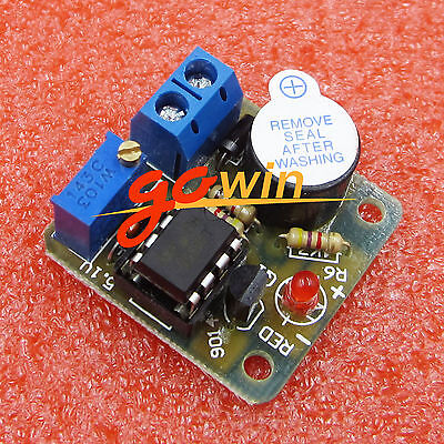 2pc 9V12V Battery Discharge Excessive Anti-over-discharge Protection Alarm Board
