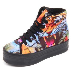 Mehrfarbiger Schuh D2190 Campbell Sneaker Damen Jeffrey Scarpe Donna Yr1XPxY