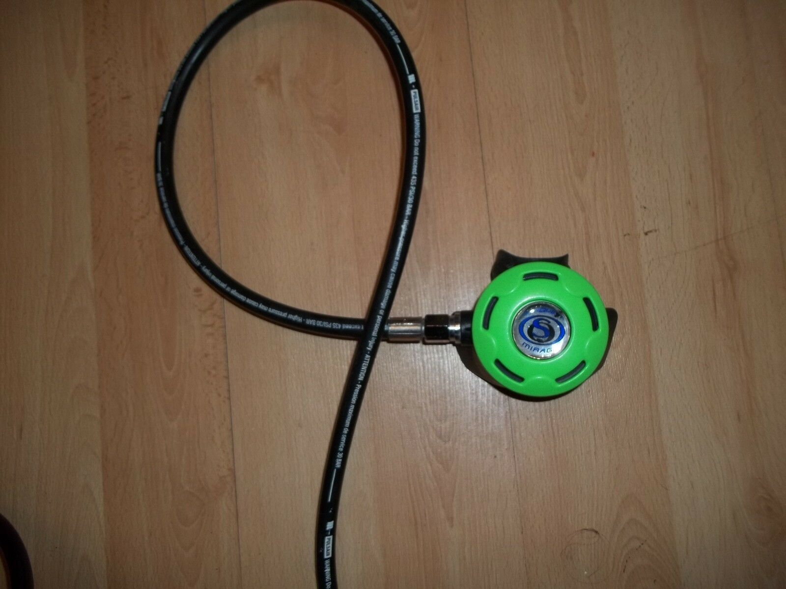 Sea Quest Green Mirage 2nd Stage Regulator for Scuba Diving