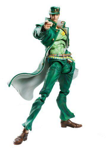 Super Action Statue 56 Kujo Jotaro Third Hirohiko Araki Specify Farbe Ver.
