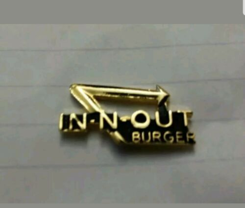 In N Out Burger tie tacks Hat Pins Pinbacks