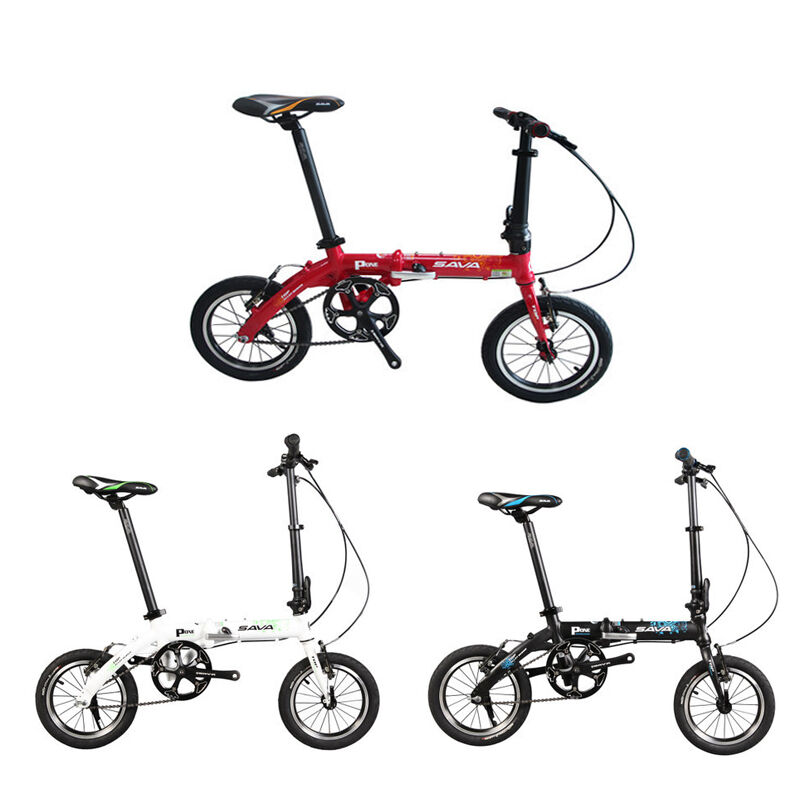 Sava P-ONE Folding MTB Mountain Bike Foldable Lightweight Bike 14  Bicicleta