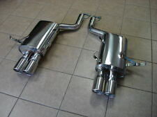 BMW E39 M5 V8 5.0L 00-03 Top Speed Pro1 Rear Section Performance Exhaust Systems