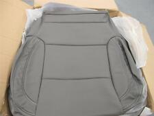 2014 2015 2016 Chevy Silverado Sierra Crew Katzkin leather seat covers  Dk Ash