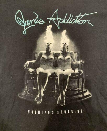 Xl JANES ADDICTION Vintage T-shirt Nirvana Nine I… - image 1