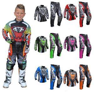 wulfsport attack neu racing motocross kinder hosen jersey. Black Bedroom Furniture Sets. Home Design Ideas
