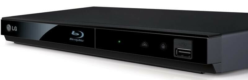 Andet, LG, LG BP125N Blu-Ray/DVD Sort