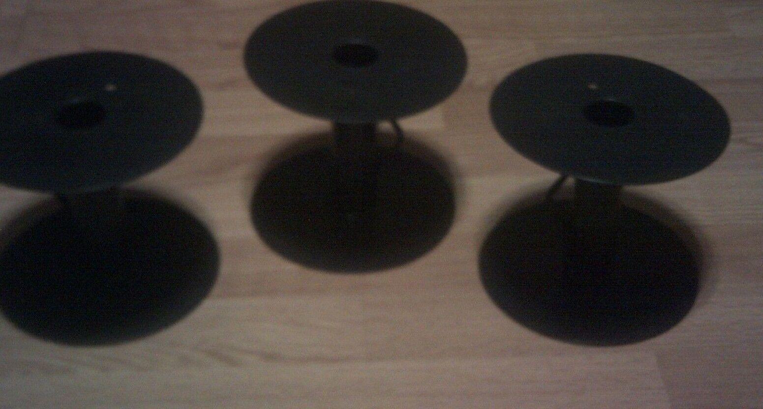 """6.25/"""" EMPTY Plastic Spools Crafts  Cord Ribbon REEL HOSE 3 Pieces"""