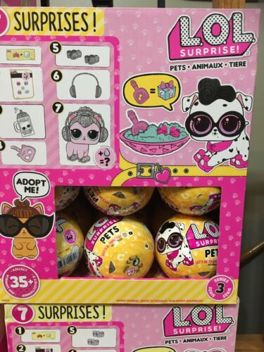 LOL SURPRISE PETS SERIES 3 WAVE 2017 NAPPING UNSEARCHED