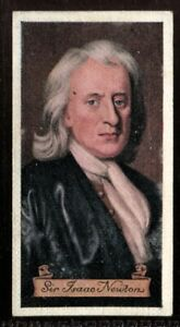 Tobacco-Card-Carreras-CELEBRITIES-OF-BRITISH-HISTORY-1935-Sir-Isaac-Newton-18