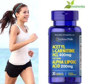 ACETYL-L-CARNITINE-ALPHA-LIPOIC-ACID-600mg-MULTIPLE-SCLEROSIS-SUPPLEMENT-30ct