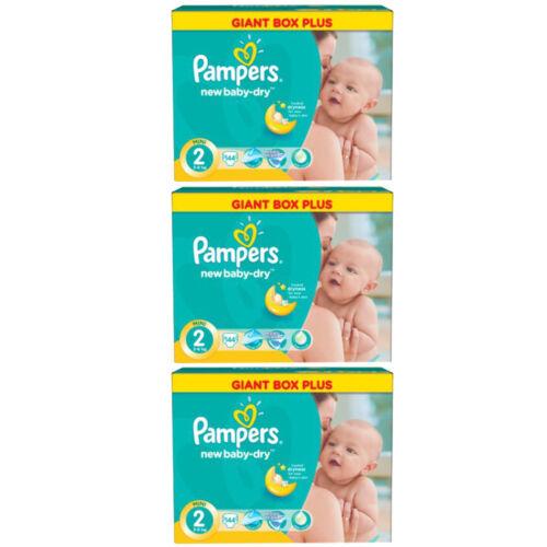 PAMPERS New Baby Mini Gr.2 3-6 kg bis zu 432 Windeln // Packung MENGENRABATT