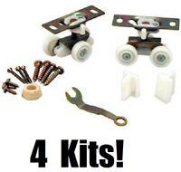(4) Ea L E Johnson 1500ppk3 Pocket Door Frame Hardware Kits