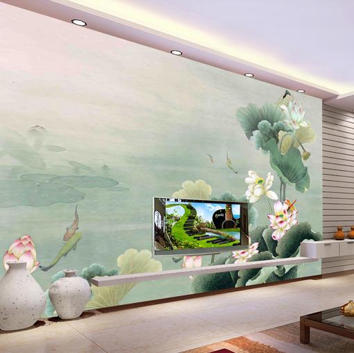 3D Lotus Seed 4879 Wallpaper Murals Wall Print Wallpaper Mural AJ WALL UK Kyra