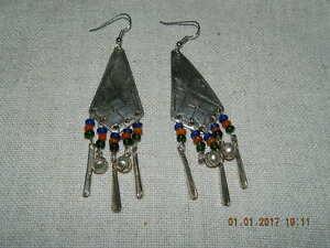 @@@wunderschöne Afrika Berber Tuareg Sahara Ohrringe Modeschmuck@@@