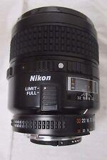 Nikon Nikkor AF 60mm Micro Macro 2.8 Lens great condition