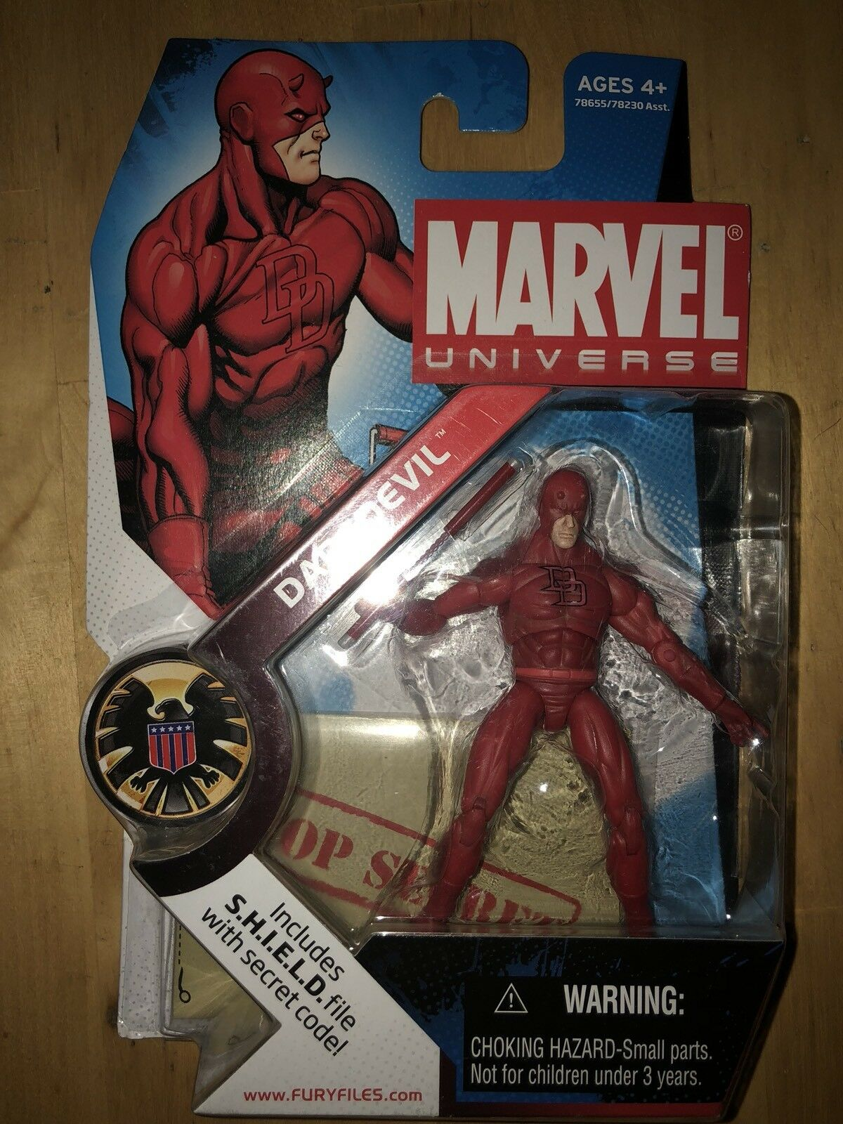 Marvel Universe DARE DEVIL red AF MU 9