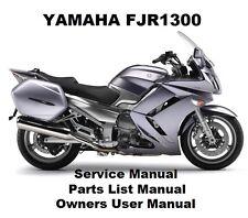 Yamaha fjr 1300 repair manual.