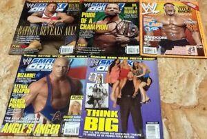 Wrestling-Magazines-WWE-Set-7