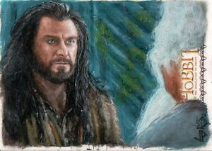 The-Hobbit-The-Desolation-Of-Smaug-Jason-Potratz-amp-Jack-Hai-Sketch-Card