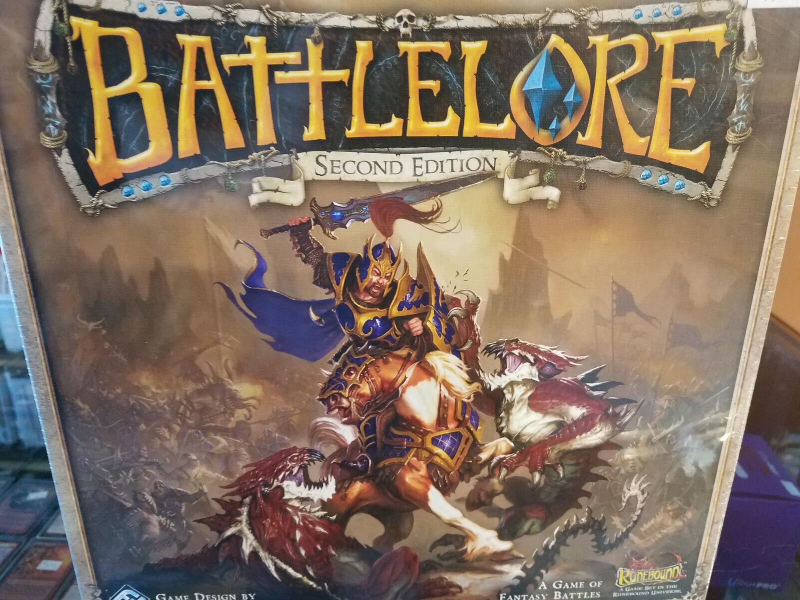 Battlelore 2nd Second Edition Edition Edition - FFG Games - Board Game New / NIB 1f6725