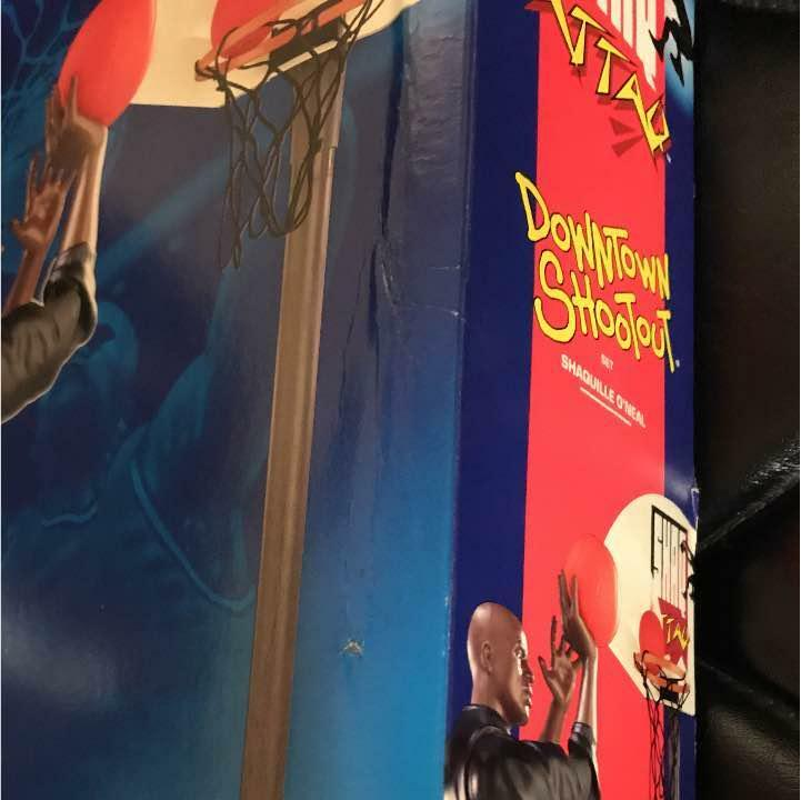 NBA Kenner Shaquille Oneal Shaq Attaq Downtown Shootout Action Action Action Figure Playset d1cad6